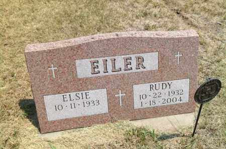 EILER, RUDY - Boyd County, Nebraska   RUDY EILER - Nebraska Gravestone Photos