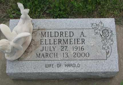 ELLERMEIER, MILDRED A. - Boyd County, Nebraska   MILDRED A. ELLERMEIER - Nebraska Gravestone Photos