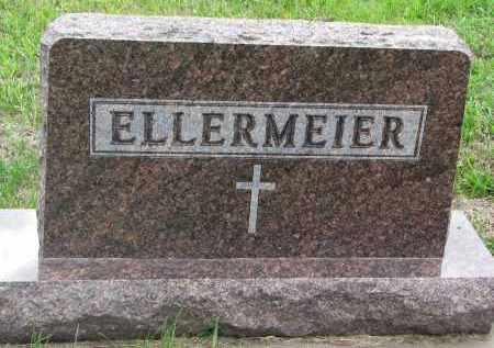 ELLERMEIER, PLOT STONE - Boyd County, Nebraska | PLOT STONE ELLERMEIER - Nebraska Gravestone Photos