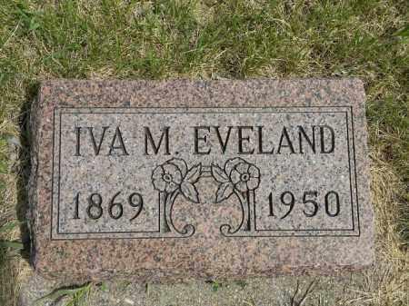 EVELAND, IVA MAE - Boyd County, Nebraska   IVA MAE EVELAND - Nebraska Gravestone Photos