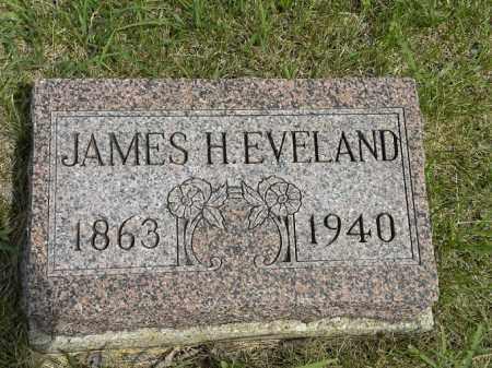 EVELAND, JAMES HENRY - Boyd County, Nebraska   JAMES HENRY EVELAND - Nebraska Gravestone Photos
