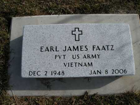FAATZ, EARL JAMES - Boyd County, Nebraska | EARL JAMES FAATZ - Nebraska Gravestone Photos