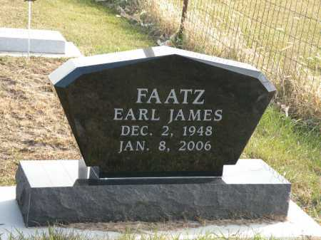 FAATZ, EARL JAMES - Boyd County, Nebraska | EARL JAMES FAATZ - Nebraska Gravestone Photos