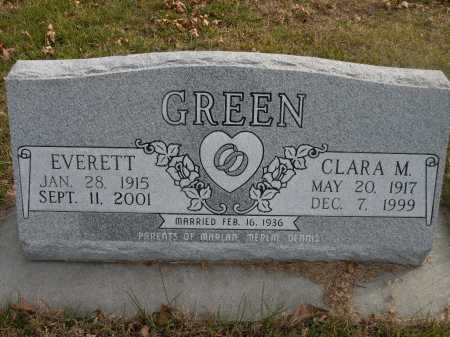 GREEN, EVERETT - Boyd County, Nebraska | EVERETT GREEN - Nebraska Gravestone Photos