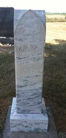 HAMILTON, BENNY T - Boyd County, Nebraska   BENNY T HAMILTON - Nebraska Gravestone Photos