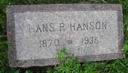 HANSON, HANS P. - Boyd County, Nebraska | HANS P. HANSON - Nebraska Gravestone Photos