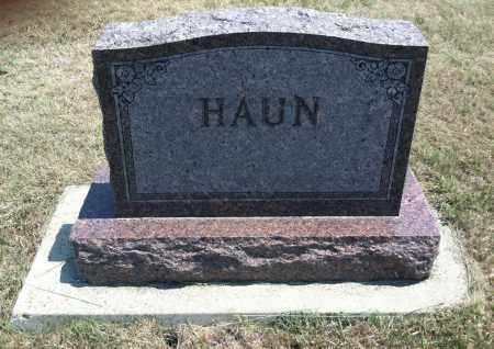 HAUN, FAMILY STONE - Boyd County, Nebraska   FAMILY STONE HAUN - Nebraska Gravestone Photos