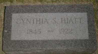 SPENCER HIATT, CYNTHIA - Boyd County, Nebraska   CYNTHIA SPENCER HIATT - Nebraska Gravestone Photos