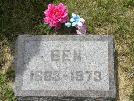 HISEROTE, BENJAMIN FRANKLIN - Boyd County, Nebraska | BENJAMIN FRANKLIN HISEROTE - Nebraska Gravestone Photos