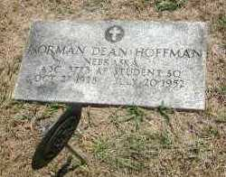 HOFFMAN, NORMAN DEAN - Boyd County, Nebraska   NORMAN DEAN HOFFMAN - Nebraska Gravestone Photos