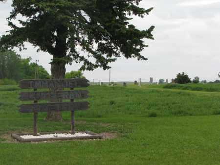 *IMMANUEL LUTHERAN, ENTRANCE & GPS - Boyd County, Nebraska   ENTRANCE & GPS *IMMANUEL LUTHERAN - Nebraska Gravestone Photos