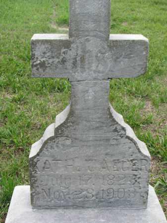 JAEGER, KATH. J. - Boyd County, Nebraska | KATH. J. JAEGER - Nebraska Gravestone Photos