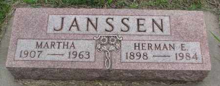 JANSSEN, HERMAN E. - Boyd County, Nebraska | HERMAN E. JANSSEN - Nebraska Gravestone Photos