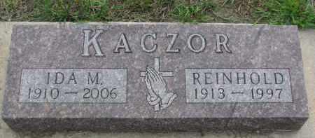 KACZOR, IDA M. - Boyd County, Nebraska   IDA M. KACZOR - Nebraska Gravestone Photos