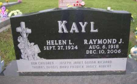 KAYL, RAYMOND J. - Boyd County, Nebraska   RAYMOND J. KAYL - Nebraska Gravestone Photos