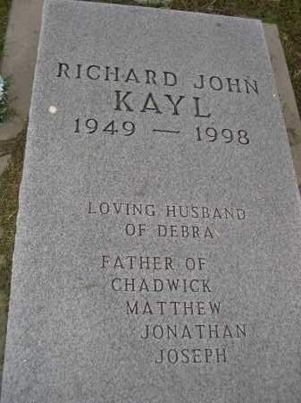 KAYL, RICHARD JOHN - Boyd County, Nebraska | RICHARD JOHN KAYL - Nebraska Gravestone Photos