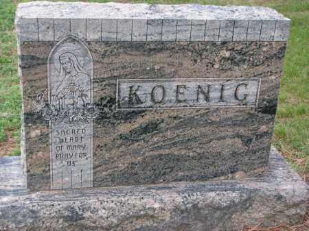 KOENIG, FAMILY STONE - Boyd County, Nebraska | FAMILY STONE KOENIG - Nebraska Gravestone Photos