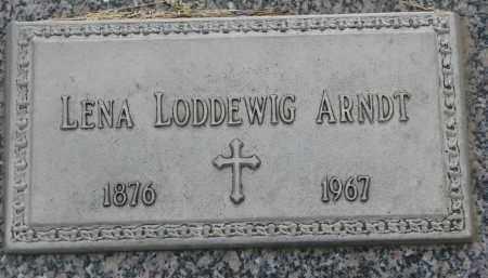 ARNDT LODDEWIG, LENA - Boyd County, Nebraska | LENA ARNDT LODDEWIG - Nebraska Gravestone Photos