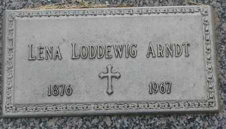LODDEWIG, LENA - Boyd County, Nebraska | LENA LODDEWIG - Nebraska Gravestone Photos