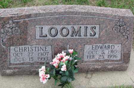 LOOMIS, EDWARD - Boyd County, Nebraska | EDWARD LOOMIS - Nebraska Gravestone Photos