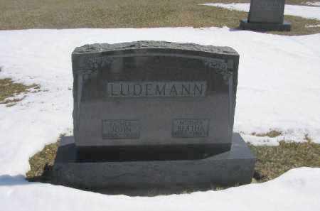 LUDEMANN, JOHN - Boyd County, Nebraska   JOHN LUDEMANN - Nebraska Gravestone Photos