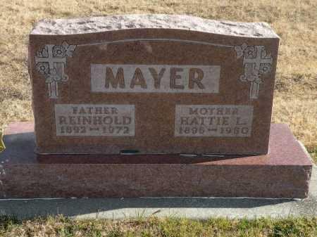 MAYER, HATTIE - Boyd County, Nebraska | HATTIE MAYER - Nebraska Gravestone Photos