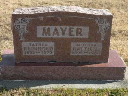 MAYER, REINHOLD - Boyd County, Nebraska | REINHOLD MAYER - Nebraska Gravestone Photos