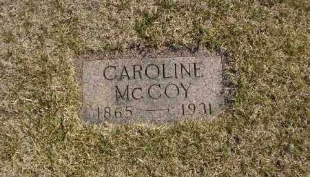 MCCOY, CAROLINE - Boyd County, Nebraska | CAROLINE MCCOY - Nebraska Gravestone Photos