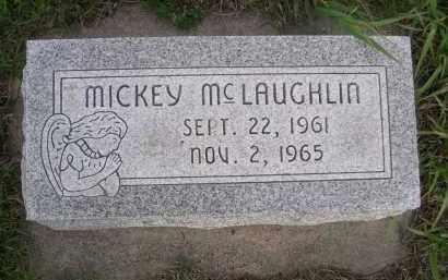 MCLAUGHLIN, MICKEY - Boyd County, Nebraska | MICKEY MCLAUGHLIN - Nebraska Gravestone Photos