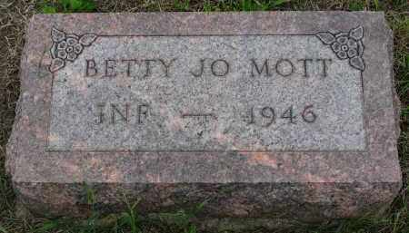 MOTT, BETTY JO - Boyd County, Nebraska | BETTY JO MOTT - Nebraska Gravestone Photos
