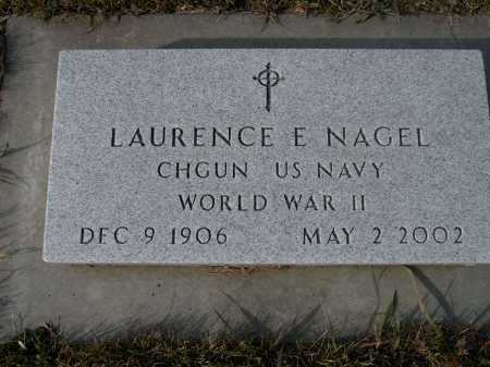 NAGEL, LAURENCE E. - Boyd County, Nebraska | LAURENCE E. NAGEL - Nebraska Gravestone Photos