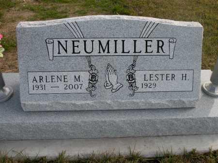 NEUMILLER, ARLENE M. - Boyd County, Nebraska | ARLENE M. NEUMILLER - Nebraska Gravestone Photos