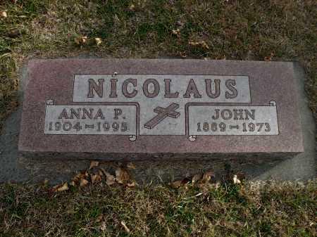 NICOLAUS, ANNA P. - Boyd County, Nebraska | ANNA P. NICOLAUS - Nebraska Gravestone Photos