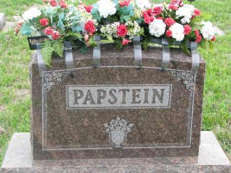 PAPSTEIN, PLOT STONE - Boyd County, Nebraska | PLOT STONE PAPSTEIN - Nebraska Gravestone Photos