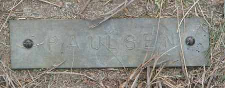PAULSEN, UNKNOWN #2 - Boyd County, Nebraska | UNKNOWN #2 PAULSEN - Nebraska Gravestone Photos