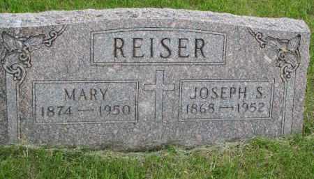 REISER, JOSEPH S. - Boyd County, Nebraska   JOSEPH S. REISER - Nebraska Gravestone Photos