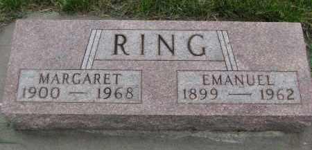 RING, MARGARET - Boyd County, Nebraska | MARGARET RING - Nebraska Gravestone Photos