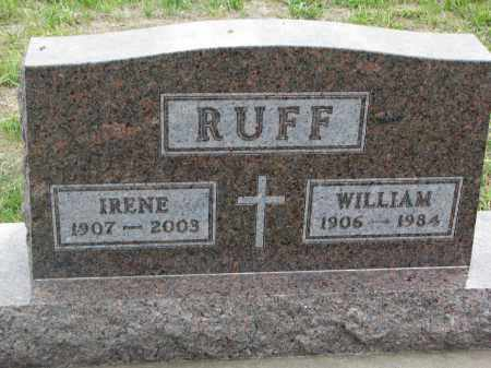 RUFF, WILLIAM - Boyd County, Nebraska | WILLIAM RUFF - Nebraska Gravestone Photos