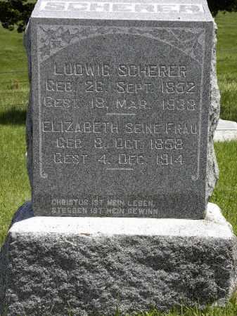 SCHERER, LUDWIG - Boyd County, Nebraska | LUDWIG SCHERER - Nebraska Gravestone Photos