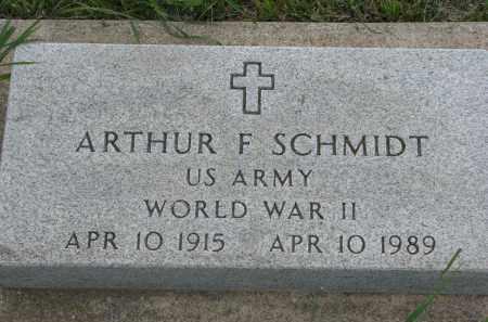 SCHMIDT, ARTHUR F. (WW II) - Boyd County, Nebraska | ARTHUR F. (WW II) SCHMIDT - Nebraska Gravestone Photos