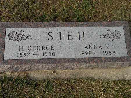 SIEH, H. GEORGE - Boyd County, Nebraska | H. GEORGE SIEH - Nebraska Gravestone Photos