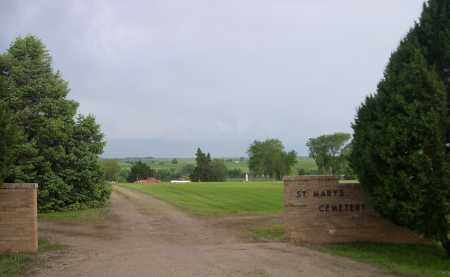 *ST. MARY'S CEMETERY, ENTRANCE TO - Boyd County, Nebraska   ENTRANCE TO *ST. MARY'S CEMETERY - Nebraska Gravestone Photos