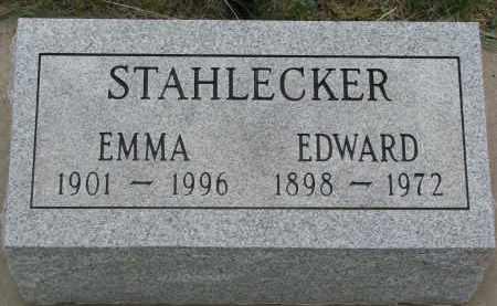 STAHLECKER, EMMA - Boyd County, Nebraska | EMMA STAHLECKER - Nebraska Gravestone Photos