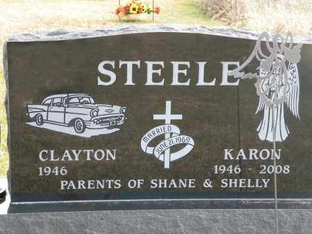 VAUGHN STEELE, KARON - Boyd County, Nebraska | KARON VAUGHN STEELE - Nebraska Gravestone Photos