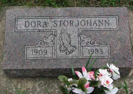 STORJOHANN, DORA - Boyd County, Nebraska   DORA STORJOHANN - Nebraska Gravestone Photos