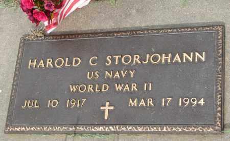 STORJOHANN, HAROLD C. - Boyd County, Nebraska | HAROLD C. STORJOHANN - Nebraska Gravestone Photos