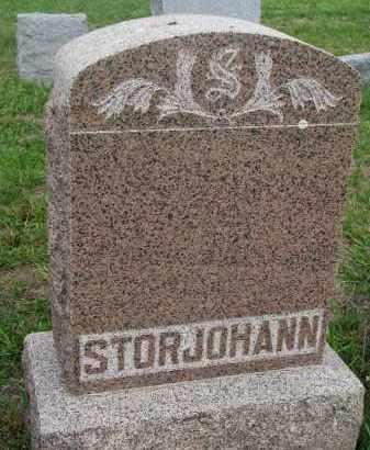 STORJOHANN, PLOT STONE - Boyd County, Nebraska | PLOT STONE STORJOHANN - Nebraska Gravestone Photos