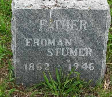 STUMER, ERDMAN - Boyd County, Nebraska | ERDMAN STUMER - Nebraska Gravestone Photos