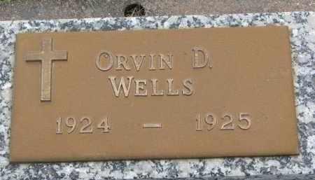 WELLS, ORVIN D. - Boyd County, Nebraska | ORVIN D. WELLS - Nebraska Gravestone Photos