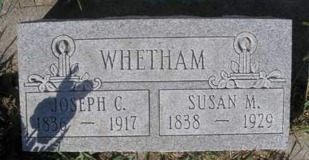 WHETHAM, JOSEPH C. - Boyd County, Nebraska | JOSEPH C. WHETHAM - Nebraska Gravestone Photos